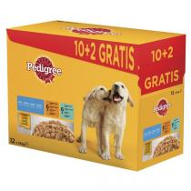 Pedigree Junior multipack 12 x 100g kapsičky