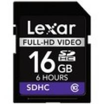 Lexar SDHC 16GB Full-HD Video Class 10