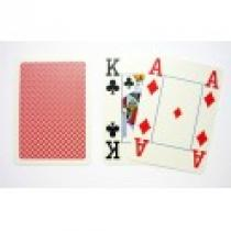 Copag 4 rohy Red Poker karty