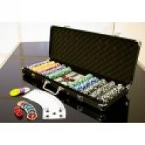 OEM Poker set 500 ks 5-1000 OCEAN BLACK EDITION