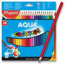 Maped Color´Peps Aqua - 24 barev + štětec