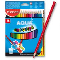 Maped Color´Peps Aqua - 18 barev + štětec