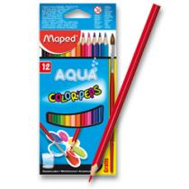 Maped Color´Peps Aqua - 12 barev + štětec