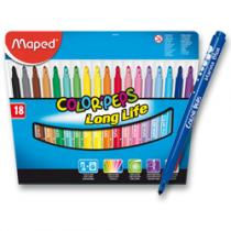 Maped Color´Peps - 18 barev - fixy