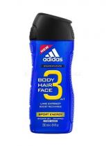 Adidas 3in1 Sport Energy Sprchový gel 250ml