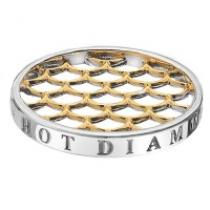 Hot Diamonds Gold Weaver Coin