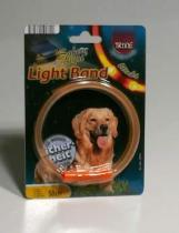 Trixie Light band blikací obojek 58cm