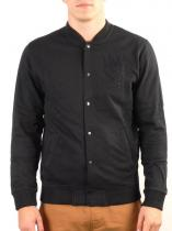 WESC WARREN black mikina