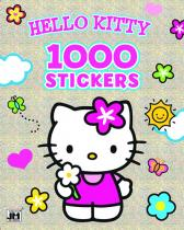Hello Kitty 1000 samolepek