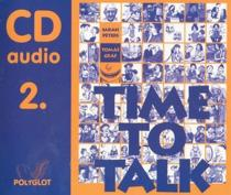 Time to talk 2 - audio CD - Peters Sarah, Gráf Tomáš CD