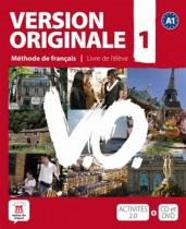 Version Originale 1 – Livre de léleve + CD + DVD