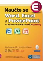 Naučte se Word, Excel a PowerPoint - CD - Jan Novák