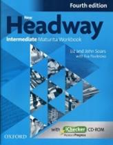 John and Liz Soars: New Headway Fourth Edition Intermediate Maturita Workbook CZ with iChecker CD