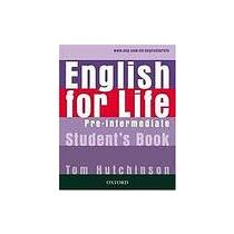 English for life pre-int SB