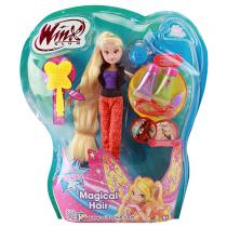 Winx Club Panenka Magical Hair Stella