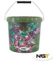 NGT Large Camo Bucket 15l
