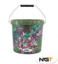 NGT Medium Camo Bucket 10l
