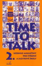 Time To Talk 2 Učebnice