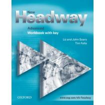 New Headway Advanced WB with key