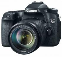 Canon EOS 70D + 18-135 mm IS STM