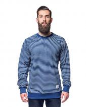 HORSEFEATHERS SATIRE navy stripes