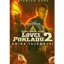 Lovci pokladů 2: Kniha tajemství DVD (National Treasure: The Book of Secrets)