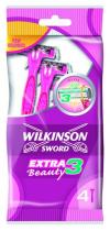 WILKINSON Extra 3 Beauty 4ks