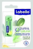 Beiersdorf Labello Balzám na rty Pure & Natural Olive & Lemon 4,8 g
