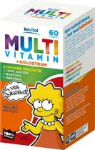 Vitar Revital The Simpsons Multivitamin + kolostrum 60 tbl.