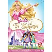 Barbie a Tři Mušketýři DVD (Barbie and the Three Musketeers)