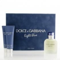 Dolce & Gabbana Light Blue EDT 125ml + SG 50ml + ASB 75ml SET