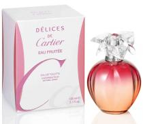 Cartier Delices Eau Fruitee EDT 100 ml W tester
