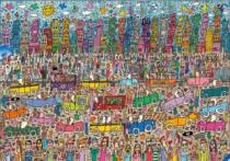 RAVENSBURGER 5000 dílků - Nothing is as pretty as a Rizzi City