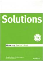Oxford University Press Maturita Solutions Elementary Techer's Book