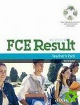 OUP English Learning and Teaching FCE Result Revised Teacher´s Book including assessment booklet with DVD pack