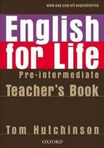 OUP English Learning and Teaching English for life Pre-intermediate Teacher's Book + MultiROM