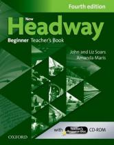 OUP English Learning and Teaching New Headway Fourth edition Beginner Teacher´s Book with Teacher´s resource disc