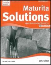 OUP English Learning and Teaching Maturita Solutions Upper-intermediate Workbook with audio CD Pack Czech Edition (2nd Edition)