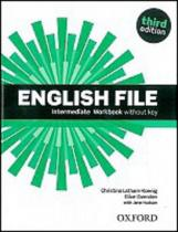 OUP English Learning and Teaching English File Intermediate Workbook without key