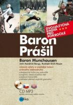Edika Baron Prášil Baron Munchauzen (+ CD audio MP3)