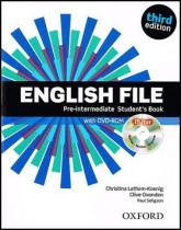 OUP English Learning and Teaching English File Pre-Intermediate Student´s Book + iTutor DVD-ROM