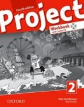 Oxford University Press Project 2 Fourth Edition Workbook with Audio CD and Online Practice