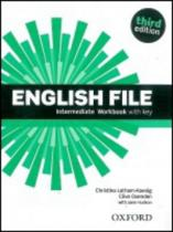 OUP English Learning and Teaching English File Intermediate Workbook with key