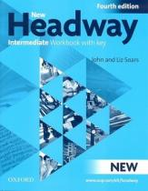 Oxford University Press New Headway Intermediate Workbook with key