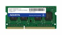 ADATA 4GB DDR3 1600Mhz CL11 SO-DIMM (AD3S1600C4G11-R)