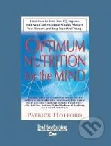 Patrick Holford: Optimum Nutrition for the Mind