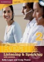 Craig Thaine, Sally Logan: Cambridge English Skills: Real Listening and Speaking 2 without answers
