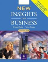 Tonya Trappe, Graham Tullis: New Insights into Business - Student´s Book