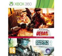 Ghost Recon: Advance Warfighter 2 and Rainbow 6 Vegas 2 (Xbox 360)
