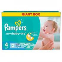 Pampers Active Baby-dry Maxi 90ks